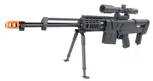 Airsoft-Gun-Sniper-Rifle-w-Scope-Bipod-MG-50-FPS-275-Spring-Special-Ops-Guns