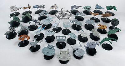 Modelle - Metall - Eaglemoss TNG Voyager DS9 Enterprise mag (Star Trek-raumschiff)