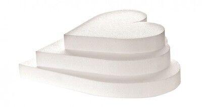 Base Stampo Forma Cuore per torta in polistirolo varie misure- Decora