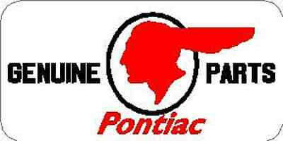 GENUINE PONTIAC PARTS VINYL STICKER (A2760) Genuine Pontiac Parts