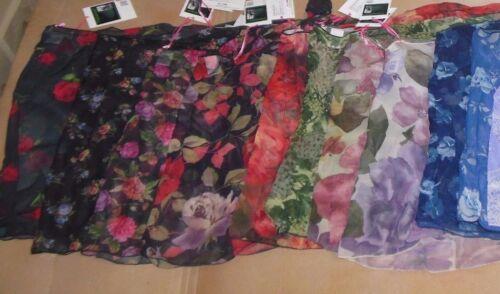 NWT Trienawear print sarong ballet skirts 2 adult sizes Lovely prints