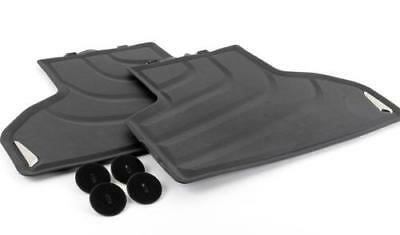 Genuine BMW All Weather Rubber Rear Floor Mats X5 F15X6 F16  PN51472458440 UK