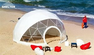 Dome Tent with Walkway – Commercial Tents