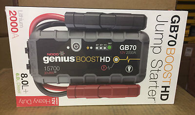 Купить NOCO Genius Boost GB70 HD 2000 Amp 12V UltraSafe Lithium Jump Starter