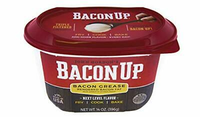 Bacon Up Bacon Grease Rendered Bacon Fat for Frying Cooking Baking 14 ounces