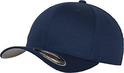 Flexfit Wooly Combed–cappello da baseball con 6panelli, unisex, (c3H)