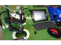 COMMON RAIL TEST BENCH STAND / INJECTOR TESTER