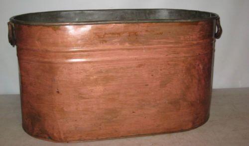 Copper Wash Tub Ebay