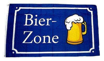 Flagge / Fahne Bier Zone Hissflagge 90 x 150 cm