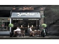 Barista/Server needed for newly opened Jelly Hill in Glasgow's West End