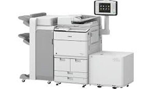 CANON IMAGERUNNER ADVANCE 8595I COPIER, PRINTER W/BOOKLET AND LCT