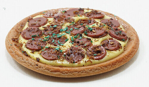Miniature Dollhouse Pizza 1:12 Scale New