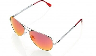 Invicta IEW023 AVAITOR  Sunglasses WHITE / PINK  + FREE INVICTA (Avaitor Sunglasses)