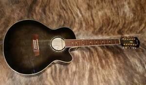 Ibanez 12 String Acoustic Electric Guitar AEL2012E TKS Ringwood East Maroondah Area Preview
