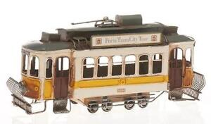 Tren-de-lata-Vehiculo-hojalata-CHAPA-Tranvia-Retro-Vintage-modelismo-Nostalgia
