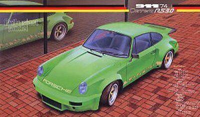 FUJIMI Porsche 911 Carrera RS '74 RS-119 [Real Sports Car Series] 1/24 Scale kit