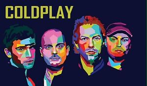 Coldplay Concert Gold Two tickets 14 Dec Sydney stage front standing Burwood Burwood Area Preview