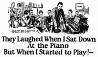 I wish I hadn't learned to play the piano...