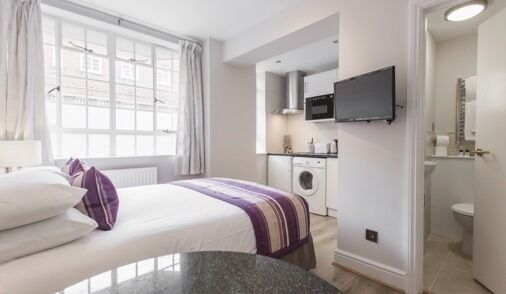Studio - Short Let - Serviced Apartment - Fully Furnished, Including All Bills, Wifi - £505 PW