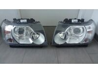 OEM Left hand drive headlights European type Freelander II 2006 - 2014 LHD EU MOT