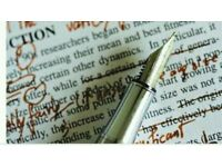 Professional and academic editing and proofreading service