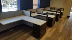 BEST CUBICLES in the market --- come in and see for yourself