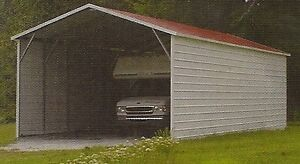 18x31x10 Metal Carport & RV Cover with Side Walls  FREE DEL. & INSTALLATION!