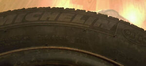 Michelin 215/60R16/XL 99H Extra Load Snow Tires with Rims St. John's Newfoundland image 2