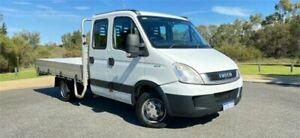 2012 Iveco Daily MY07 50C18 LWB White Dual Cab Chassis 3.0l RWD Cannington Canning Area Preview