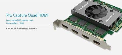 (Magewell Quad input HDMI video card)