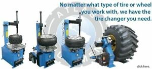 ATLAS - TIRE CHANGER / TIRE MACHINE - CLENTEC