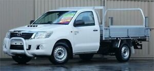 2014 Toyota Hilux KUN16R MY14 SR White 5 Speed Manual Cab Chassis Lismore Lismore Area Preview