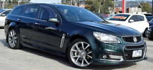 2013 Holden Commodore VF MY14 SS V Sportwagon Green 6 Speed Sports Automatic Wagon Ferntree Gully Knox Area Preview