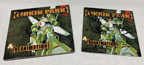 Linkin Park Reanimation Signed CD Chester Bennington Autographed Metal