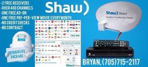 Shaw direct exclusive offer