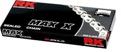 RK Chain 520 MAX-X RX-Ring Sealed Motorcycle Chain 114 Links