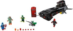 LEGO Marvel 76048 Iron Skull Submarine 76051 Civil War Airport