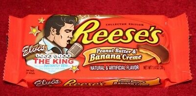 Elvis Peanut Butter and Banana Creme Candy Bar - Peanut Butter Creme