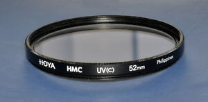 Hoya 52mm UV  (HMC) Filter