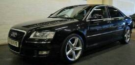 2009 AUDI A8 3.0 TDI QUATTRO FACELIFT BLACK SPORTS 1 OWNER, FULL SERVICE HISTORY, AUTOMATIC