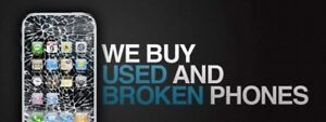 We are buying broken or used phone