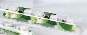 SPECIAL OCCASSION DECOR 4 CANDLE CENTERPIECES