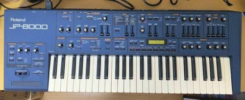 Roland Jp-8000 Keyboard Synthesizer From Japan Used instrument black 49 keys jpn