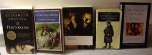 Lot of 5 novels: Charles Dickens Great Expectations, Historian,