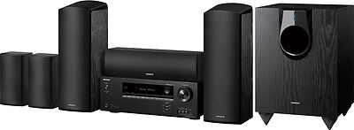 Onkyo HT-S5800 5.1.2-Channel Dolby Atmos Home Theater Package, Brand New