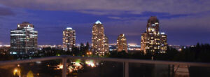 2 Bed/2 Bath-spectacular view 18th floor, close to Edmonds Stn