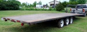5th Wheel Deck Over Tri-Axle 12,000 lb TRAILER & HITCH