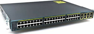 Cisco Catalyst WS-C2960G-48TC-L Switch all ports Fully Tested