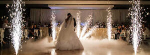 Dry ice and SPECIAL effect wedding