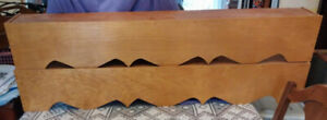 WOODEN  WINDOW  VALANCE   BOXES 2